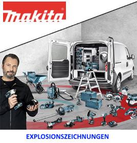 zu den Makita Explosionszeichnungen