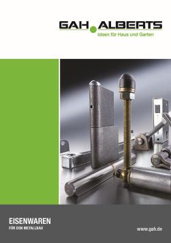 GAH Katalog Metallbau