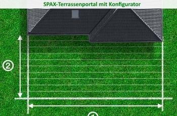Spax Terrassenkonfigurator hier testen
