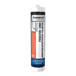 FORMAT Fenstersilikon Transparent 310ml #4317784529556