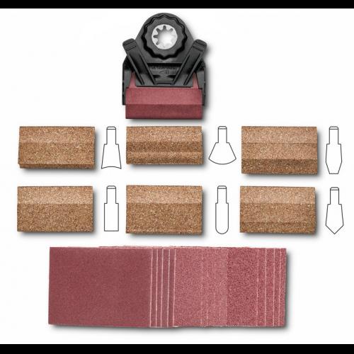 profil schleifset fein 63810031010 63810031010 fein elektrowerkzeuge fein zubeh r. Black Bedroom Furniture Sets. Home Design Ideas